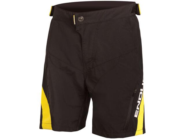 Endura MT500JR Cycling Shorts Children yellow/black